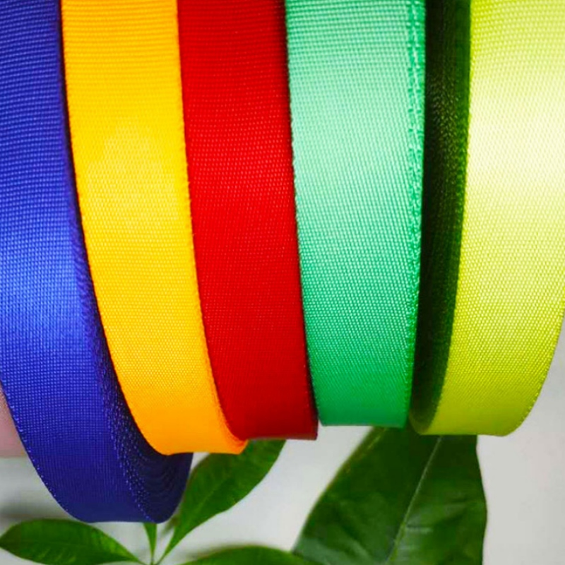 [Paihe] factory direct selling polyester ribbon, terylene ribbon
